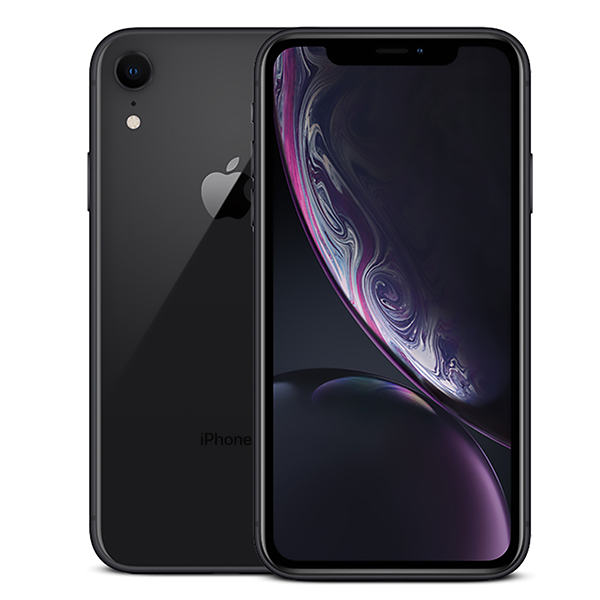 AzTech Refurbished Apple iPhone XR 64GB Smartphone Black