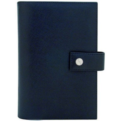 Zoppini Black Leather Personal Planner