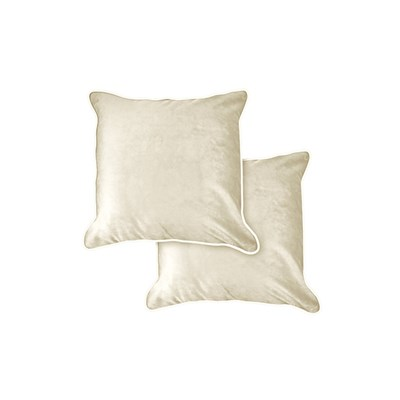 Chelsea Plush Velvet Piped Cushion Cover Pair