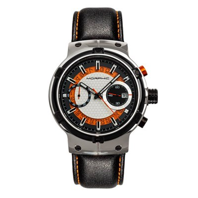 Morphic Gents M91 Series Watch on Genuine Leather Strap