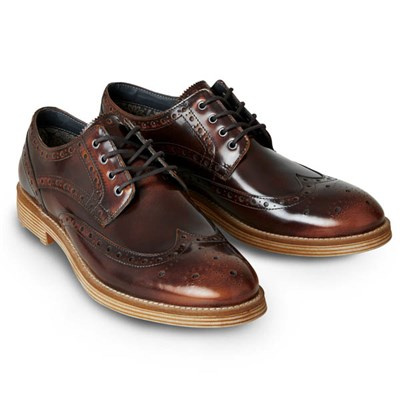 Joe Browns Men's High-Shine Brogues
