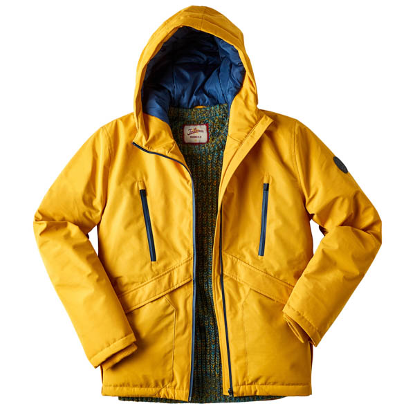 Joe Browns Men's Get Out There Coat Yellow