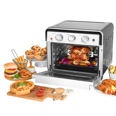 Salter EK3999 22L Air Fryer Oven with Rotisserie