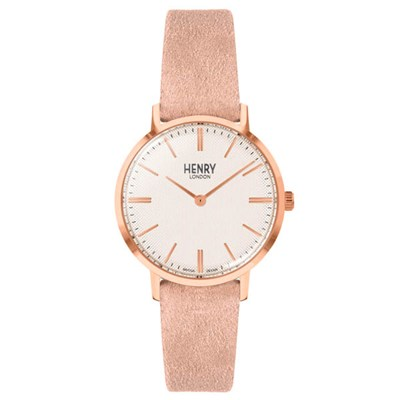 Henry London Regency Watch with Suede Strap