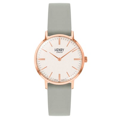 Henry London Regency Watch with Leather Strap