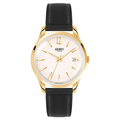 Henry London Westminster Watch with Leather Strap