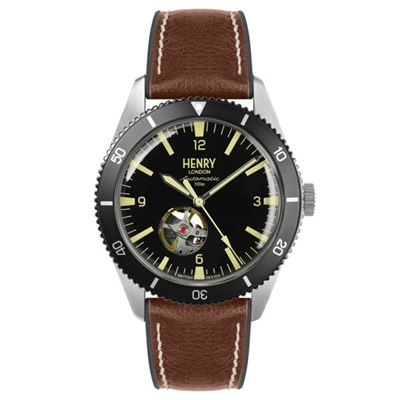 Henry London Gent's Sports Automatic Watch with Silicone Strap