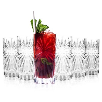RCR Oasis Crystal Hi-Ball Glasses (6 Pack)