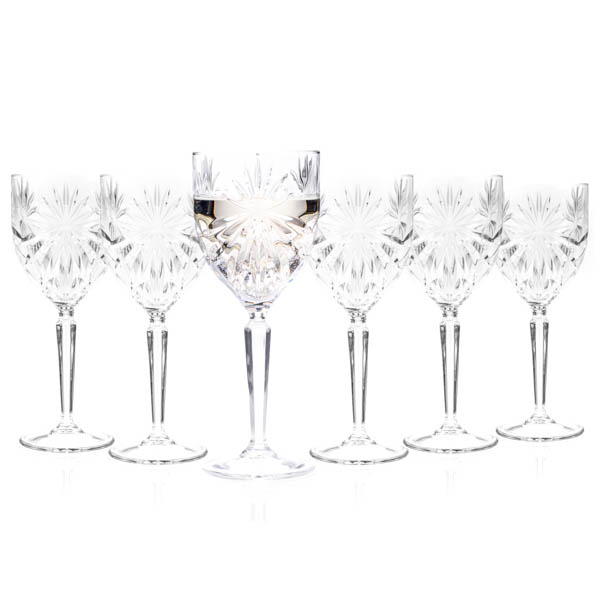 RCR Oasis Crystal Wine Glasses (6 Pack) No Colour