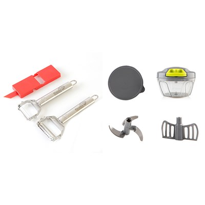 Piranha Peeler and Piranha Pull and Chop Set