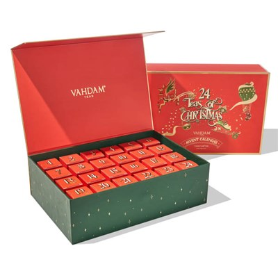 Vahdam Advent Calendar Box of Teas