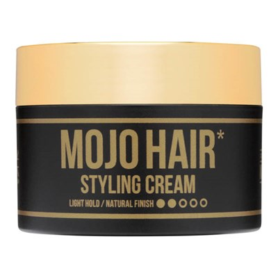 Mojo Hair Styling Cream 75ml Light Hold / Natural Finish