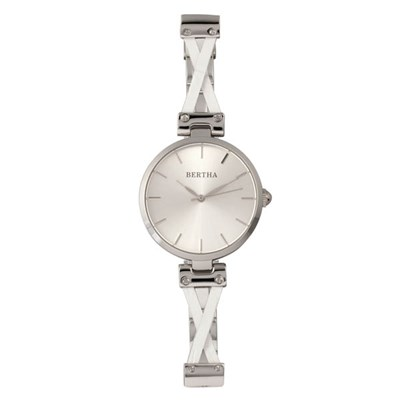 Bertha Ladies' Amanda Watch on Stainless Steel Bracelet
