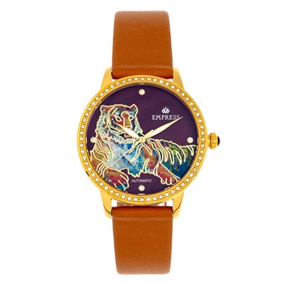 Empress Ladies' Diana Watch with Genuine Leather Strap