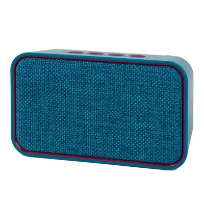 Intempo Encore Bluetooth Fabric Speaker Wireless 6W - Teal