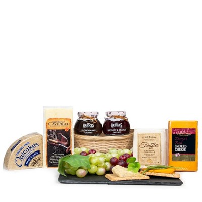 Artisan Country Cheese Basket Selection Hamper