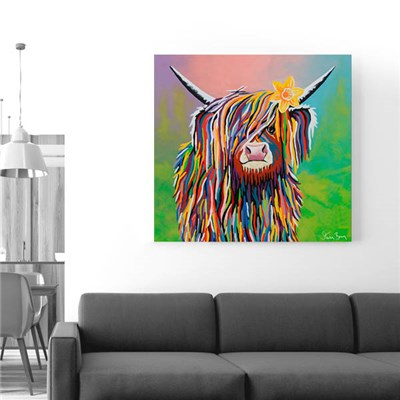Steven Brown Marie McCoo 76 x 76cm Canvas