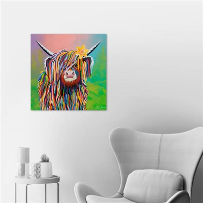Steven Brown Marie McCoo 40 x 40cm Canvas