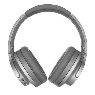 Audio-Technica ATH-ANC700BT Bluetooth Wireless Noise-Cancelling with Hi-Res Audio/Flat Fold/Answering Calls. GREY