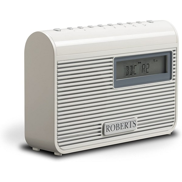 Roberts Radio Play M3 Compact/Portable DAB/DAB+/FM RDS Radio with 6 Presets AC/DC including Maxell Headphones. No Size No Colour