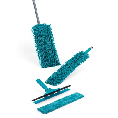 Beldray 7 Piece Duster and Mop Cleaning Set - Turquoise