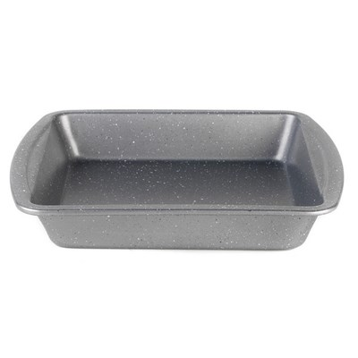 Progress Non-Stick Metallic Marble Square Pan - 26cm