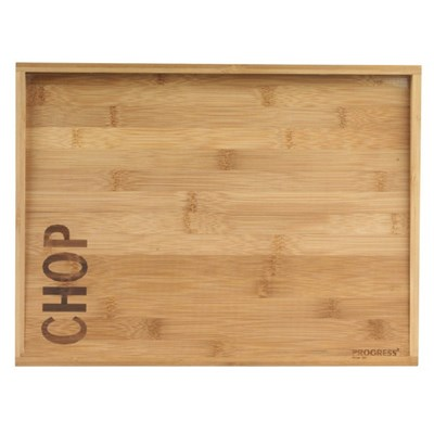 Progress Double Sided Bamboo Chopping Board - 40cm