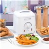Progress Compact 1L Deep Fat Fryer With Removable Cooking Basket - 950 W