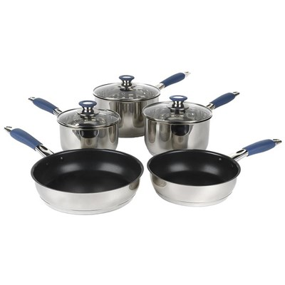 Russell Hobbs 5 Piece Stainless Steel Saucepan Set