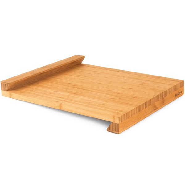 Salter Bamboo Worktop Chopping Board with Lip No Colour