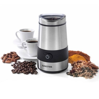 Salter Electric Coffee and Spice Grinder - Stainless Steel