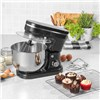 Salter 5L Stand Mixer with 6 Speed Settings - 1200W - Black