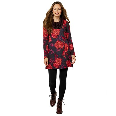 Joe Browns Vibrant Jacquard Tunic