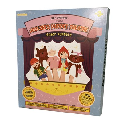 Joolzees Puppet Theatre 5 Puppets Set + Story Scroll Special Collectors Edition Ltd.Edition 1000