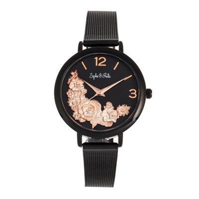 Sophie & Freda - Ladies Lexington Watch with Milanese Bracelet