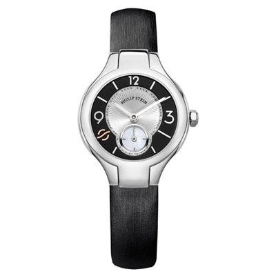 Philip Stein Gent's Classic Rubber Watch with Quartz Movement