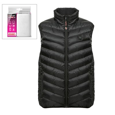 ThermoFusion Heated Gilet with 6600mAh Battery Pack