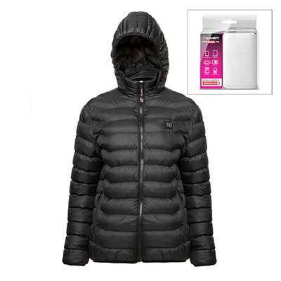 ThermoFusion Heated Jacket with 6600mAh Battery Pack