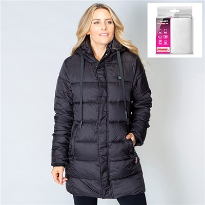 ThermoFusion Heated Longline Parka with 6600mAh Battery Pack