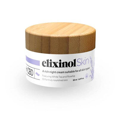 Elixinol Skin CBD Night Cream 50ml