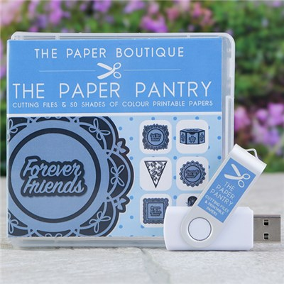 The Paper Pantry Cutting Files Volume I USB