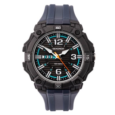 Sekonda Gents Watch with Plastic Strap