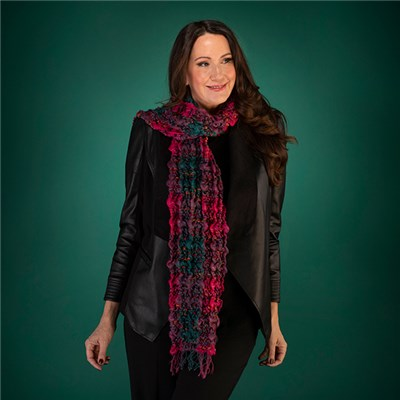 Thomas Calvi Ladies Textured Scarf