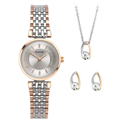 Sekonda Ladies Watch and Jewellery Gift Set