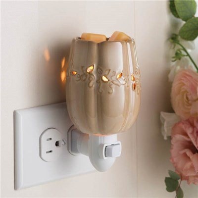 Candlewarmers Full Harvest Pluggable Fragrance Wax Warmer