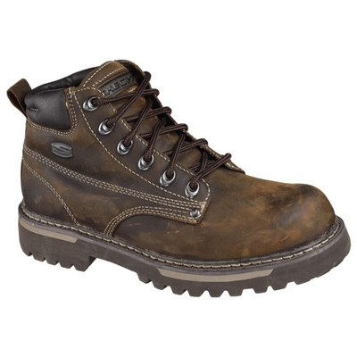 Skechers Men's Cool Cat Bully II Boot Dark Brown