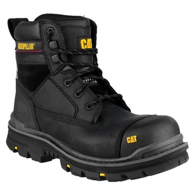 "Caterpillar Men's Gravel 6"" Safety Boot Black"