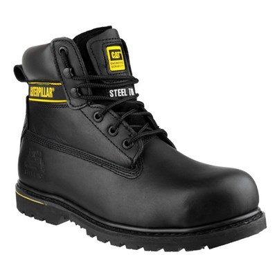 Caterpillar Men's Holton Safety Boot Black