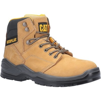 Caterpillar Men's Striver Lace Up Injected Safety Boot Honey