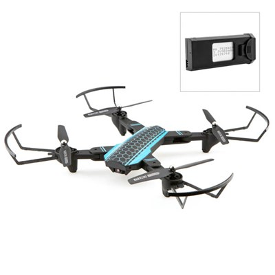 Xtreme Pro Advance Ultra Foldable Drone with HD Camera, Voice Control & Extra Battery